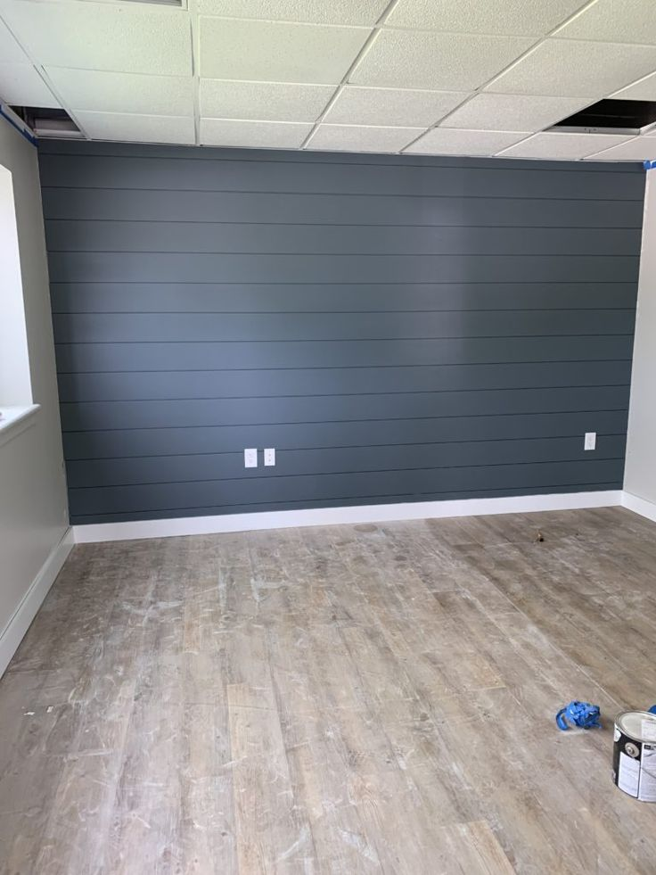 How to paint darker colored shiplap walls with pai…