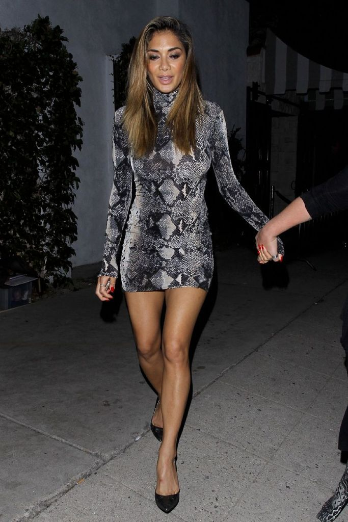 Nicole Scherzinger at Michael Costello Capsule Collection : Global Celebrtities (F) FunFunky.com
