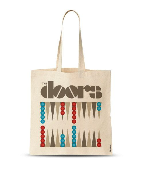 The Doors funny Tote Bag market bag gym bag custom by store365