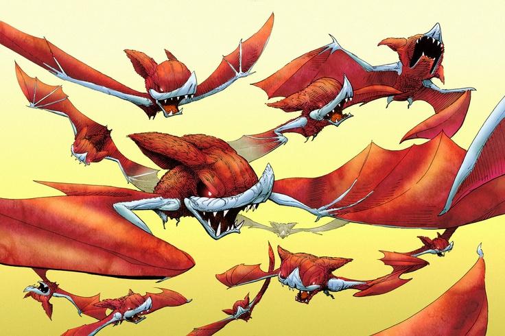BATS Color by MisterBlackwood.deviantart.com on @deviantART
