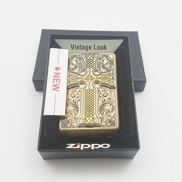 Zippo Original Lighter Creados Emblem BR Authentic Windproof Made US Gift 6Flint #Zippo