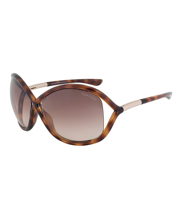 Sport a chic look with these sunnies featuring softly rounded frames in a classic Havana pattern, and signature crossover detail at the bridge. The cutaway gradient lenses are ideal when you're driving, hiking, or on the go between outdoor and indoor settings.