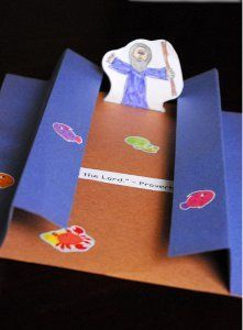 Moses and the Red Sea Paper Crafts