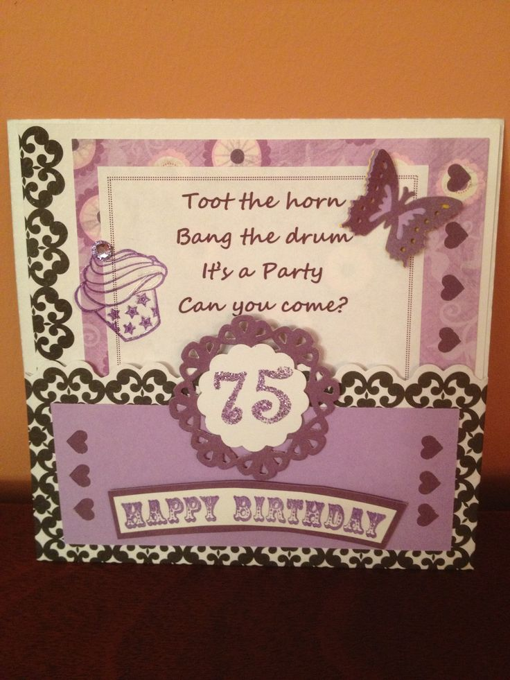 12 best images about Moms 75th Party ideas on Pinterest ...