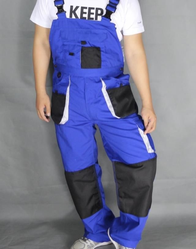 Aolamegs bib overalls men large size blue work coveralls locomotive strap jumpsuit pants sleeveless overalls big. Click visit to buy #Overalls