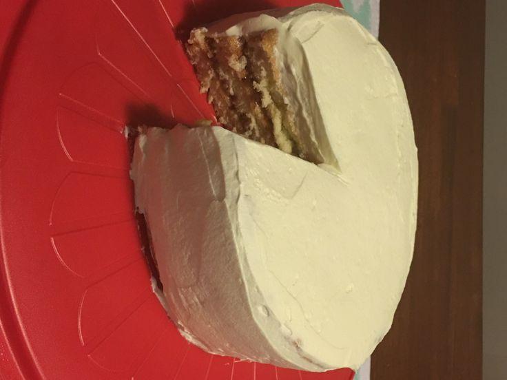 Raspberry and Cream Sponge Cake