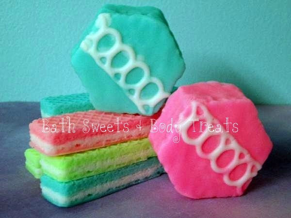 Tasty Cake Soaps  www.bathsweetsandbodytreats.com