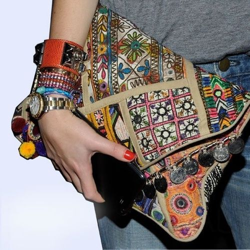 See the World Through Pattern and Colour, Love this clutch