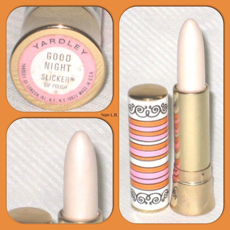 1960s Yardley White Lipstick...my cousins were older then me, they wore white lipstick