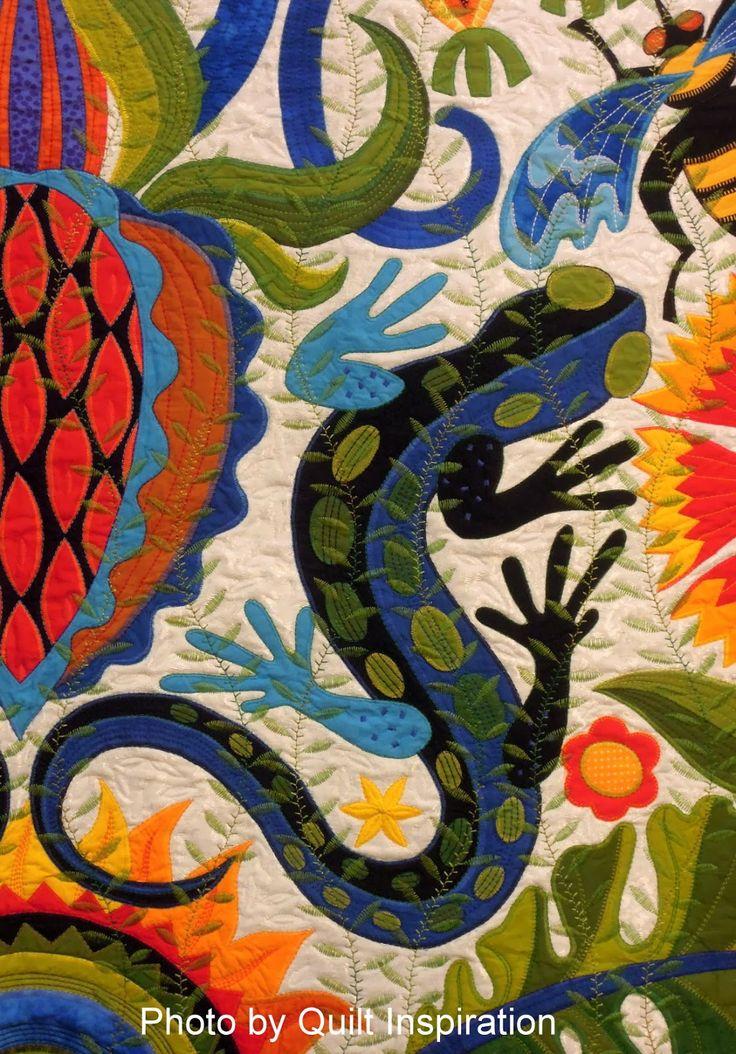 jane sassaman applique artist | Award-Winning Quilts