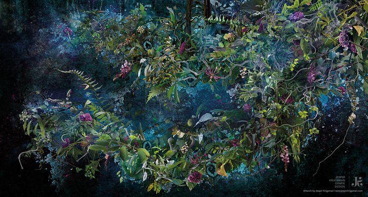 Awakening by Jesper Krijgsman (150 cm x 80 cm — 2017)