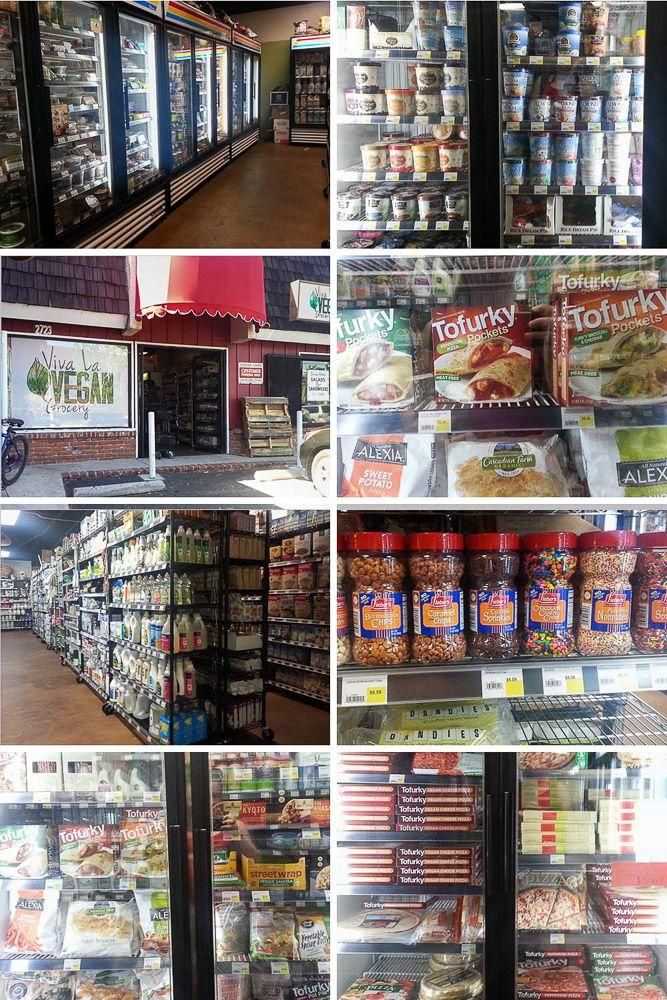 Viva La Vegan Grocery Store in Santa Monica