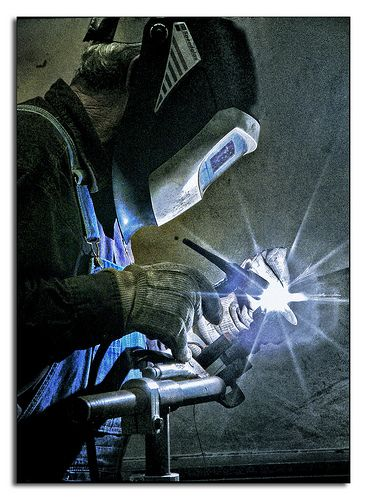 Take a welding course,Watch a master welder, Learn from everyone.