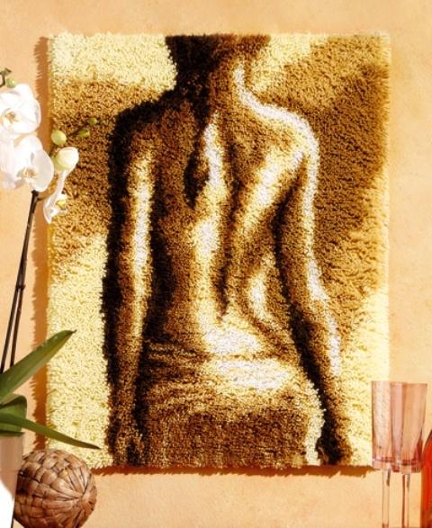Compleet Knooppakket - Wandtapijt Dame 50 x 70 cm.