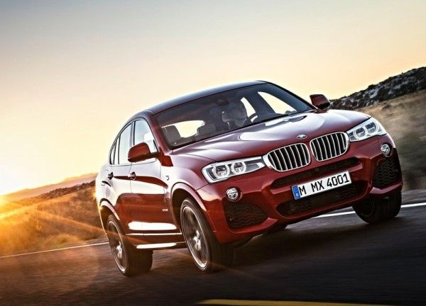 2015 BMW X4 Front Exterior Pictures 600x432 2015 BMW X4 Review