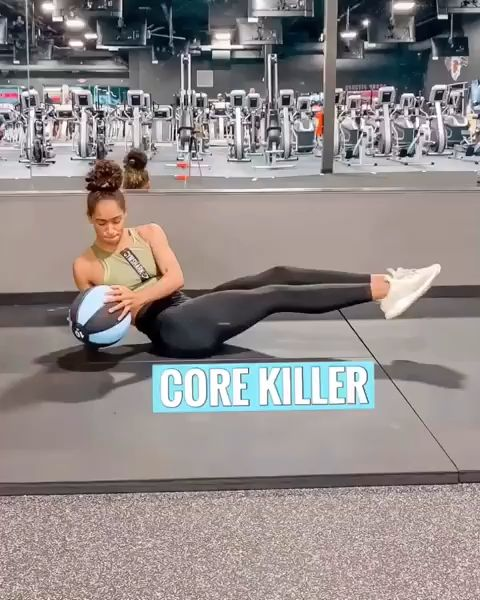 Abs workout ball workouts