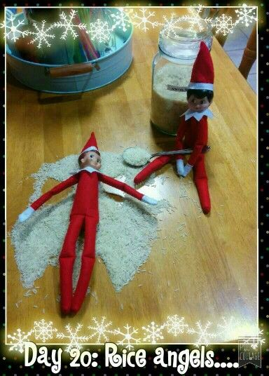Day 20: Rice angels....
