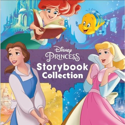 Disney Princess Storybook Collection. A book filled with stories about your favourite princesses. Featuring Ariel, Cinderella, Snow White, and more.