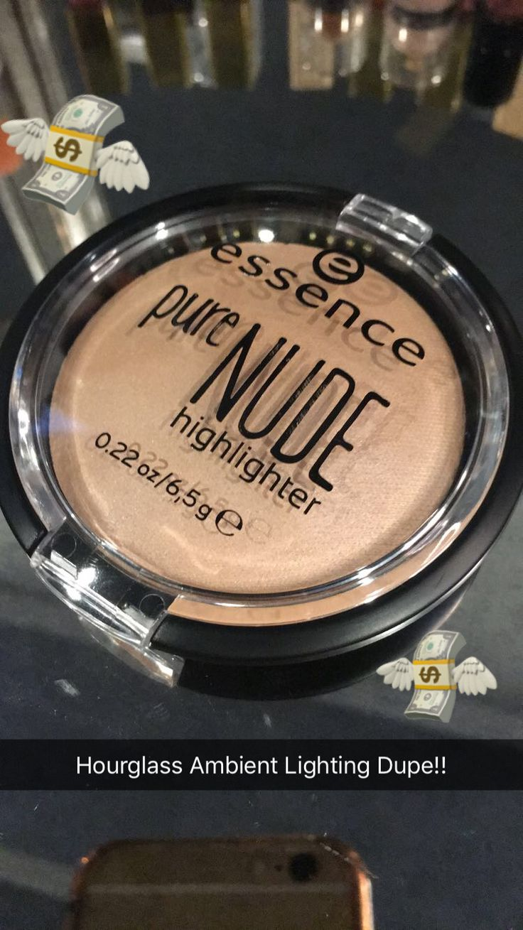 Hourglass Ambient Lighting Dupe!!! - Essence pure Nude highlighter  ✨ Follow CindyLBB✨ Instagram: @cindyslbb Pinterest: @cindyslbb Snapchat: @cindyslbb