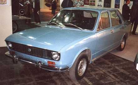 OG | Škoda 720 AD-1 Sedan | Prototype, designed by Giugaro