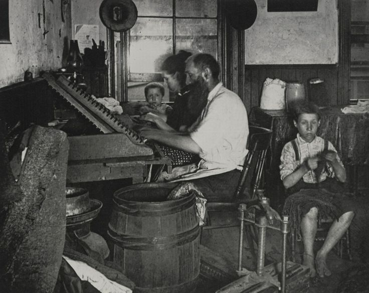 Slum Life In New York City During the Nineteenth Century's Gilded Age -- Bohemian cigar makers at work in their tenement