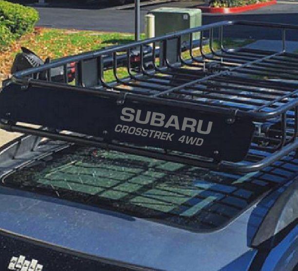 SUBARU CROSSTREK 4WD ROOF BASKET DECAL  | eBay Motors, Parts & Accessories, Car & Truck Parts | eBay!
