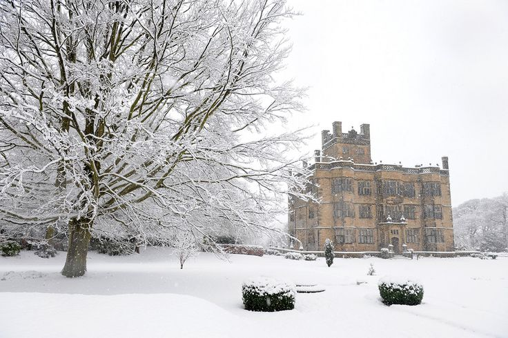 Lancashire Museums: Gawthorpe Hall in winter.   The hall is a superb Jacobean historic house, nestled in the shadow of Pendle Hill, east Lancashire. Built between 1600 and 1605 for the Shuttleworth family it had an iconic and important role in the local area. Find out more: http://www.lancashire.gov.uk/leisure-and-culture/museums/gawthorpe-hall.aspx #LancsMuseums #LancsWinter #Winter