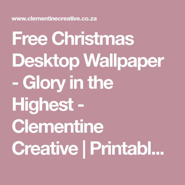 Best 25+ Free christmas desktop wallpaper ideas on Pinterest ...