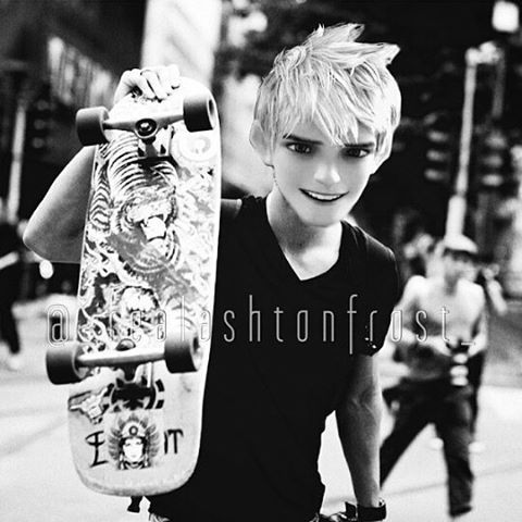 This is cool. Jack Frost as a skater hmmmmm.....