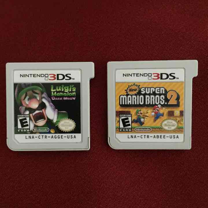 Nintendo 3 DS ( 2 ) … ($65) is on sale on Mercari, check it out! https://item.mercari.com/gl/m272299852
