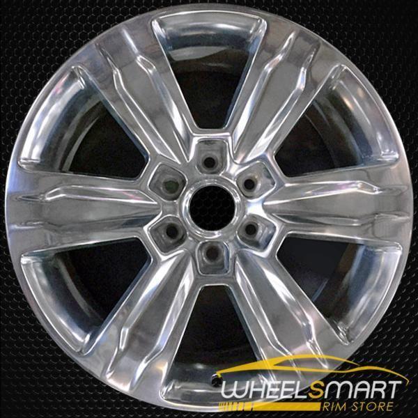 20 Ford F150 Oem Wheel 2015 2018 Polished Alloy Stock Rim 10004