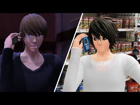 【MMD】Death Note - I'm At Soup! - YouTube