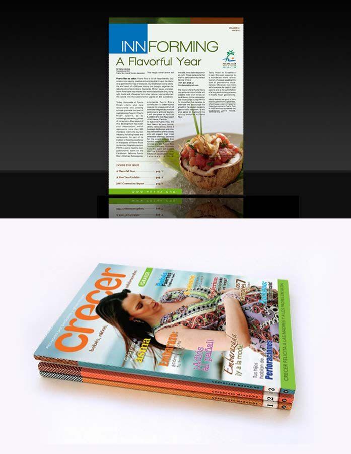 Diseño de revistas.