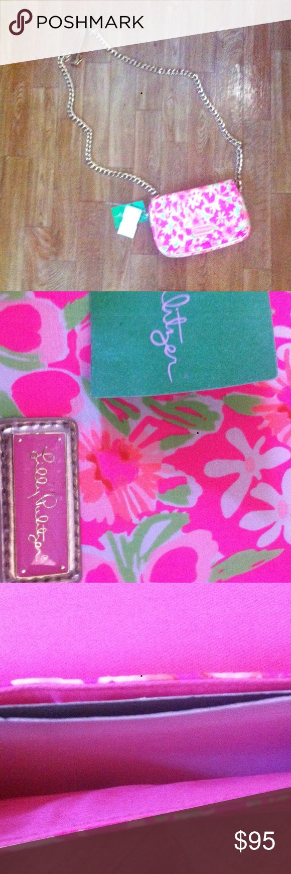 CELEBRATE Lilly sale & buy this for $75 today!! girly, chic, and NWT! Lilly Pulitzer Bags Crossbody Bags