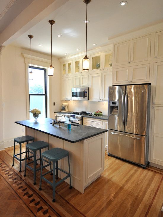 Cream Colored Kitchen Cabinets With Soapstone Counters Design Ideas,  Pictures, Remodel And Decor