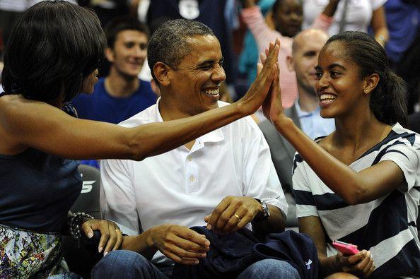 Michelle Obama Photo - United States v Brazil - Men's Exhibition Game