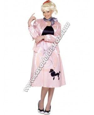 Grease Pink Dress para Carnaval #DisfracesOriginales #Disfraces http://casadeldisfraz.com/