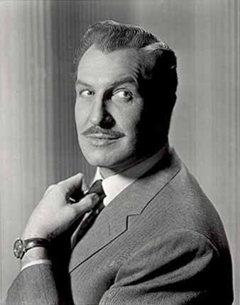 Vincent Price: Laura, The Ten Commandments, Dragonwyck, Leave Her to Heaven, House of Wax, The Tingler, The Bat, The Raven.....