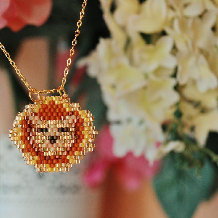 handmade miyuki necklace.. more in instagram: san_art_jewelry