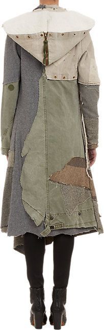Greg Lauren Deconstructed Nomad Coat - Mid - Barneys.com. Approx   $2,000-$3,000.
