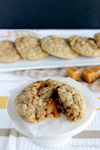 Cookie recipes using caramel bits