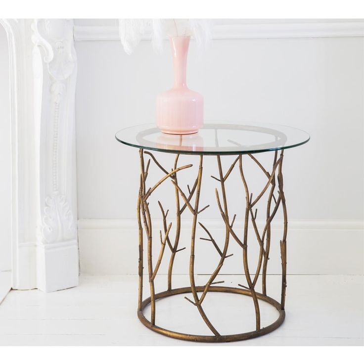 Branching Out Art Deco Side Table