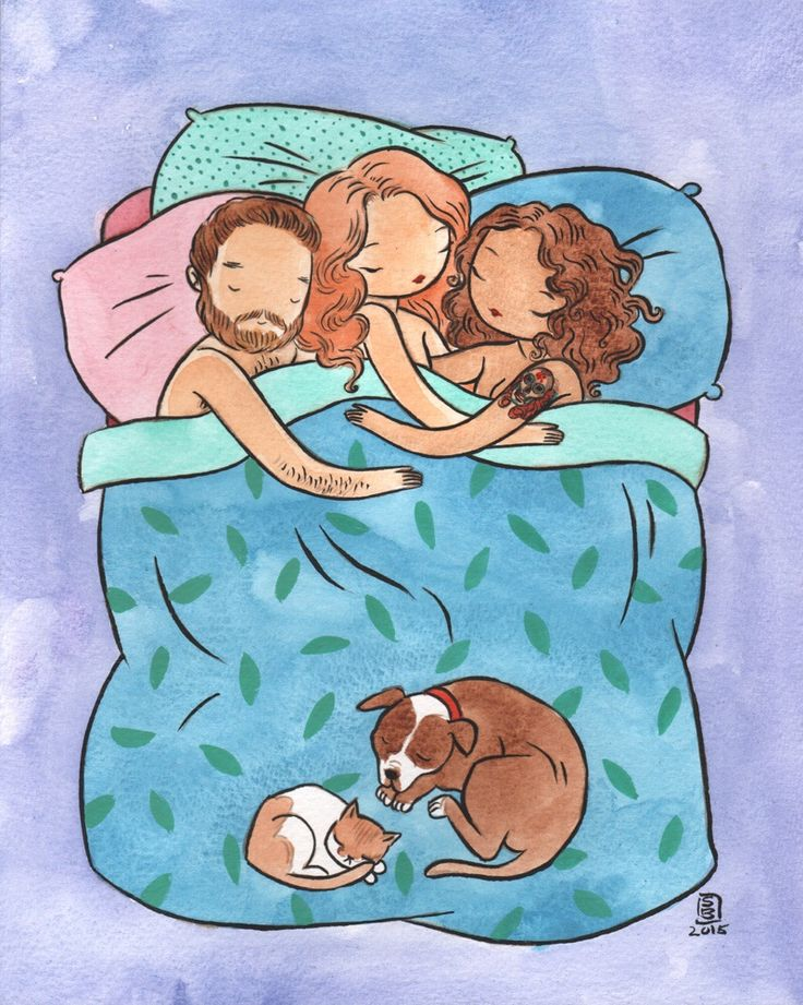 Another lovely picture depicting polyamory