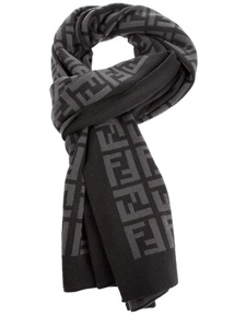 Oversized Merino Wool Scarf - LADY OPALE 10 by VIDA VIDA