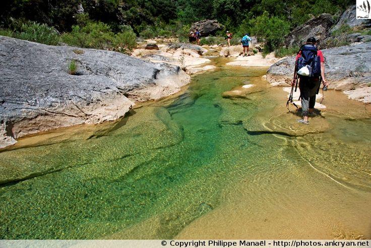 Randonnée aquatique dans le rio Guatizalema (Sierra de Guara, Espagne)