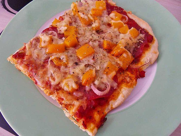 Pizzateig, kalorien- und fettarm (Rezept mit Bild) | Chefkoch.de