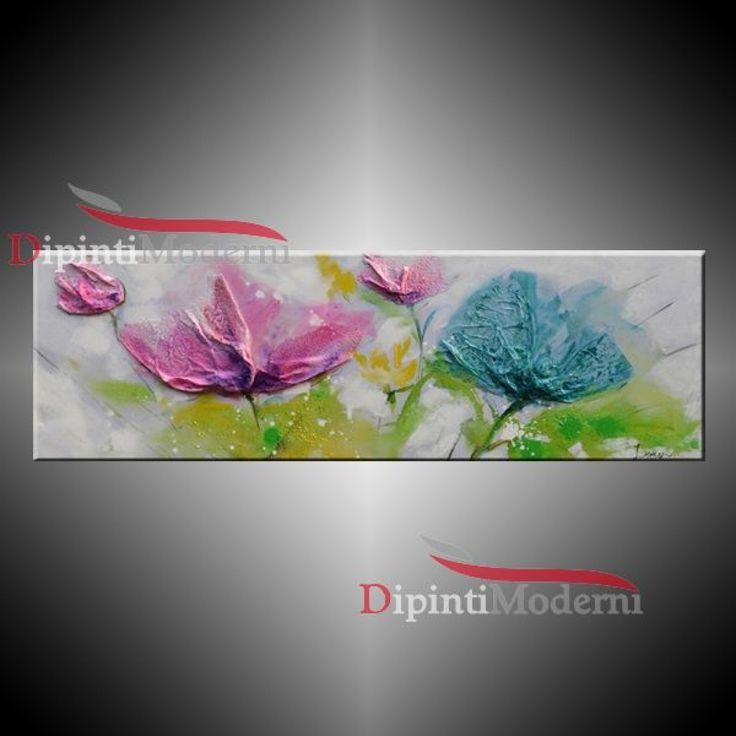 Quadri Fiori Moderni : Migliori immagini su quadri moderni con fiori