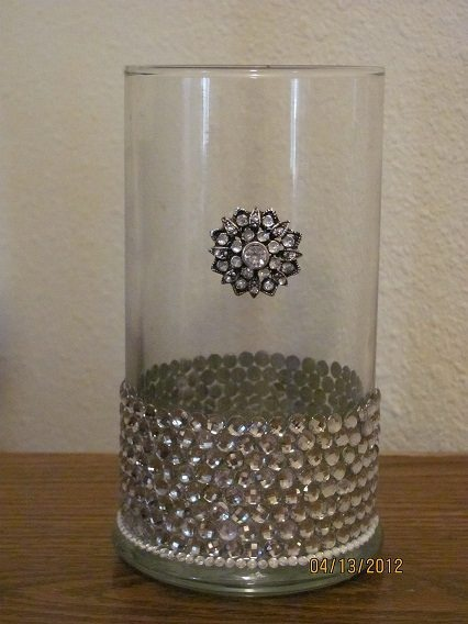 cute idea for a re-purposed Diamond Candle jar.  #rings #jewelry #candles #DiamondCandles
