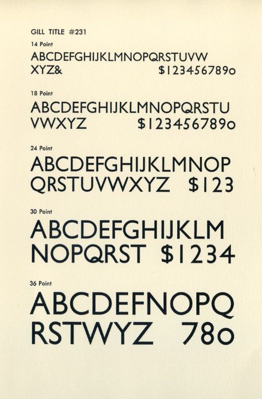 Gill Sans is a sans-serif typeface designed by Eric Gill around 1928. The first regular schedule of television programming began that year. 1928 was also the last time an American president has gone to Cuba until 2016.