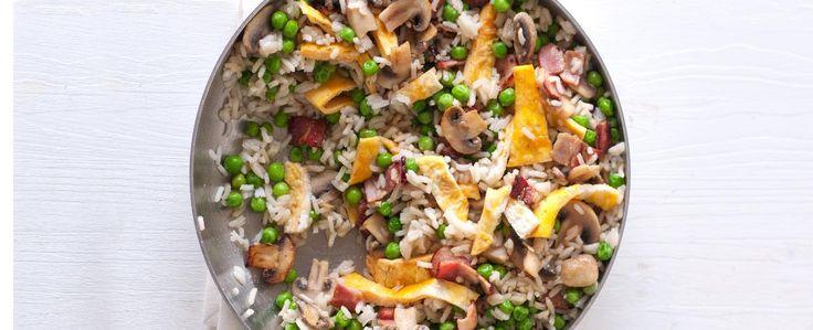 Rychlá smažená rýže